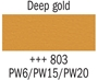 Picture of Gouache 20ml- 803 - Deep Gold