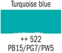 Picture of Gouache 20ml- 522 - Turquoise Blue