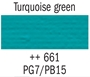 Picture of Gouache 20ml- 661 - Turquoise Green