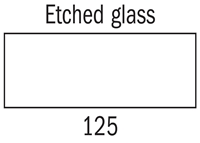 Picture of Decorfin Glass - 125 - Etched Glass 16ml