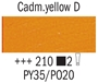 Picture of Van Gogh Oil 40ml - 210 - Cadmium Yellow Deep