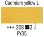 Picture of Van Gogh Oil 40ml - 208 - Cadmium Yellow Light