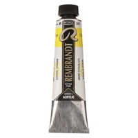 Picture of Rembrandt Acrylic - 267 - Azo Yellow Lemon 40ml