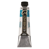 Picture of Rembrandt Acrylic - 522 - Turquoise Blue 40ml