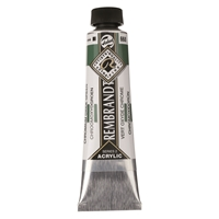 Picture of Rembrandt Acrylic - 668 - Chromium Oxide Green 40ml