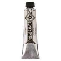 Picture of Rembrandt Acrylic - 818 - Pearl Yellow 40ml
