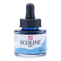 Picture of  551 - ECOLINE JAR 30ml SKY BLUE LIGHT