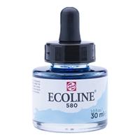 Picture of  580 - ECOLINE JAR 30ml PASTEL BLUE