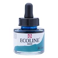 Picture of  640 - ECOLINE JAR 30ml BLUISH GREEN