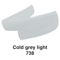 Picture of Ecoline Brushpen 738 Cold Grey Light