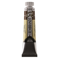Picture of Rembrandt Watercolour 20ml - 408 - Raw Umber S1