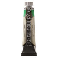 Picture of Rembrandt Watercolour 20ml - 662 - Pernament Green   S2