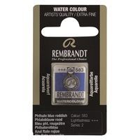 Picture of Rembrandt Watercolour Half Pan - 583 - Phthalo Blue Red  S2