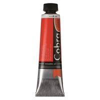 Picture of Cobra Artist Water Mixable Oil - 340 - Pyrrole Red Light 40ml