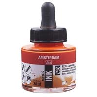 Picture of 257 - AMSTERDAM ACR INK 30ml REFLEX ORANGE