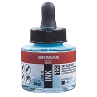 Picture of 551 - AMSTERDAM ACR INK 30ml SKY BLUE LIGHT