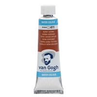 Picture of 411 - Van Gogh Watercolour 10ML BURNT SIENNA