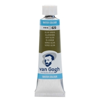 Picture of 620 - Van Gogh Watercolour 10ML OLIVE GREEN