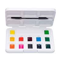 Picture of Van Gogh Watercolour Pocked box 12 Half Pan Vibrant Set